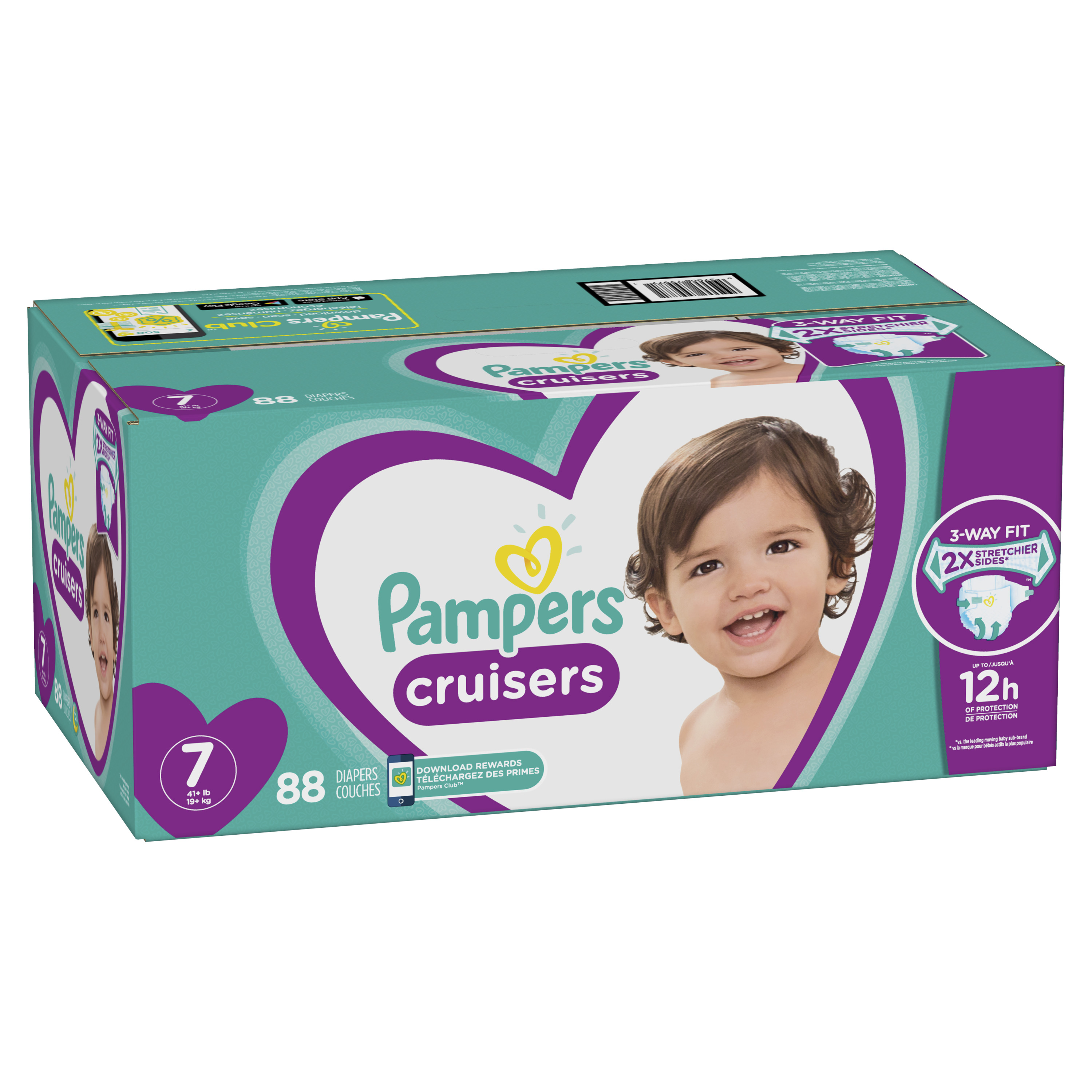 diaper girl 3 pampers voll
