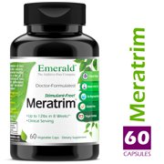 Emerald Laboratories (Ultra Botanicals) - Meratrim 800 mg - Supports Healthy Weight Loss, Metabolism, Suppresses Appetite, Anti-Inflammatory, & Nitric Oxide Boost - 60 Capsules
