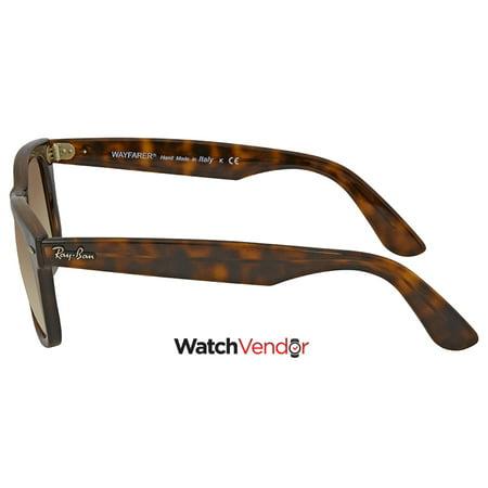8a8b7e9756 Ray Ban Wayfarer Ease Light Brown Gradient Square Sunglasses RB4340 710 51  50 - image ...