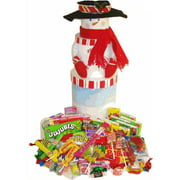Candy Crate Mega Snowman Tower of Nostalgic Candy