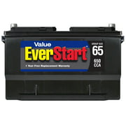 EverStart Value Lead Acid Automotive Battery, Group Size 65