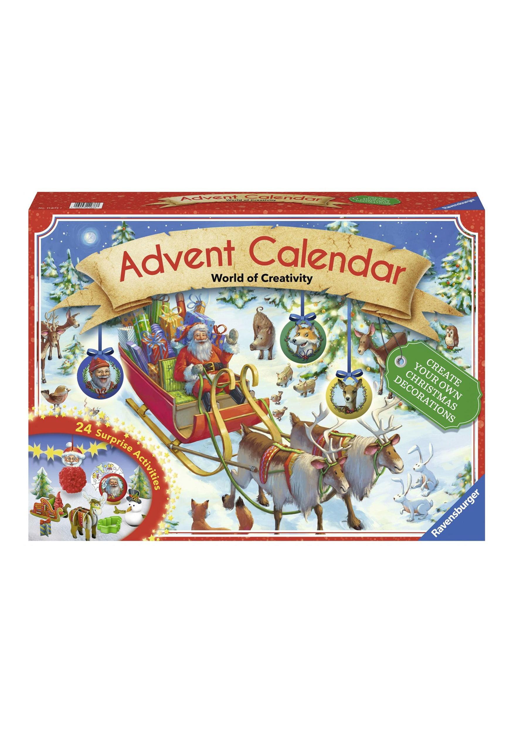 Ravensburger Christmas Advent Calendar by Ravensburger