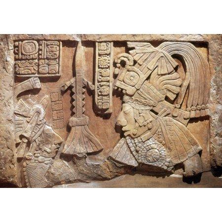 Science Source Stretched Canvas Art - Yaxun B\'alam IV, Mayan King ...