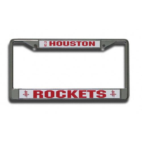 NBA - Houston Rockets Chrome License Plate Frame