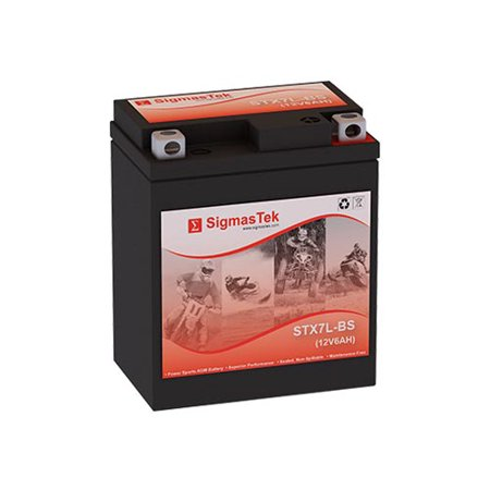 Power Sonic PTX7L-BS Motorcycle Battery (Replacement)