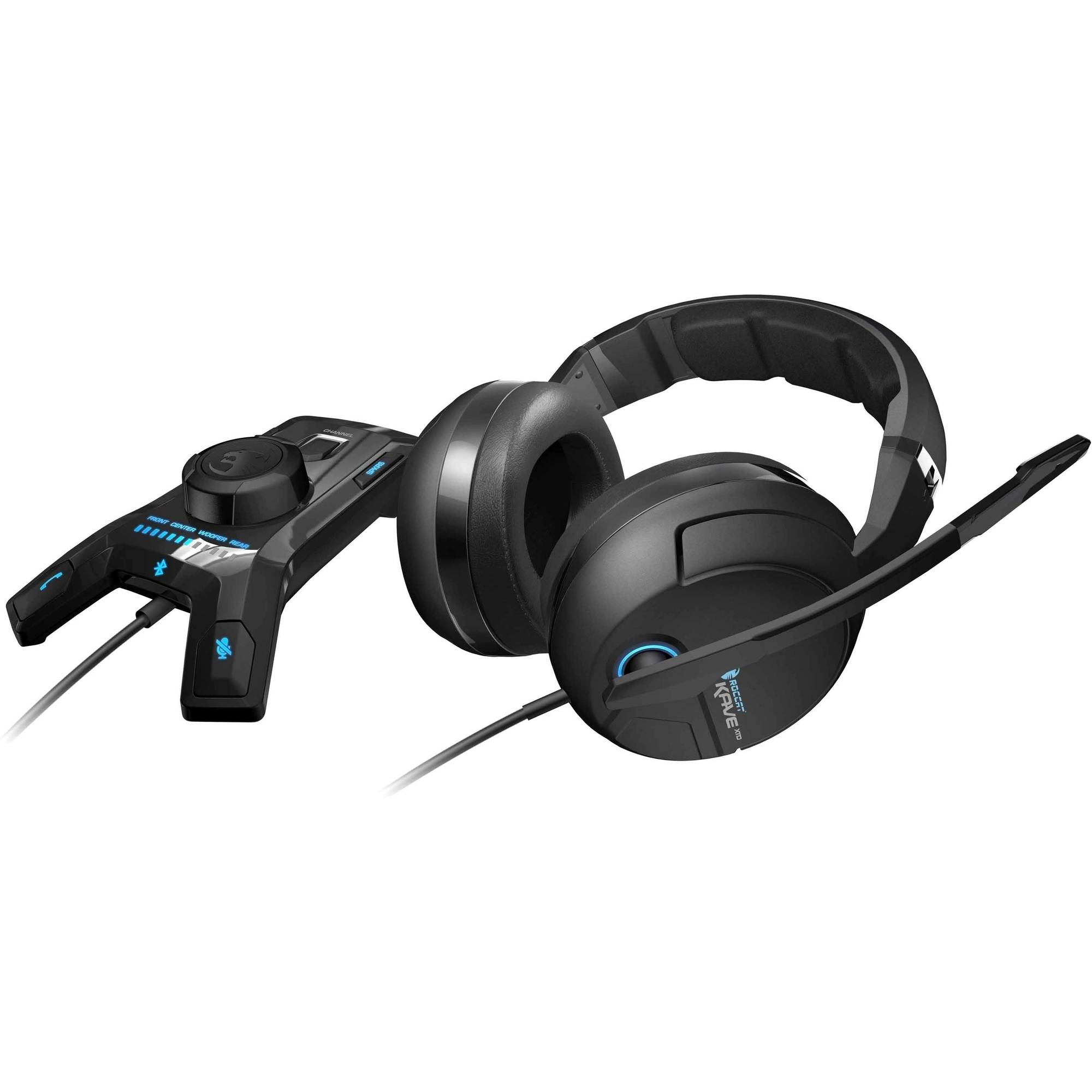 ROCCAT Kave XTD Digital Premium 5.1 Surround Headset with USB Remote and Sound Card