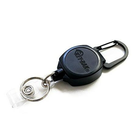 key-bak 0kb1-0a24 sidekick id badge and key reel, 24