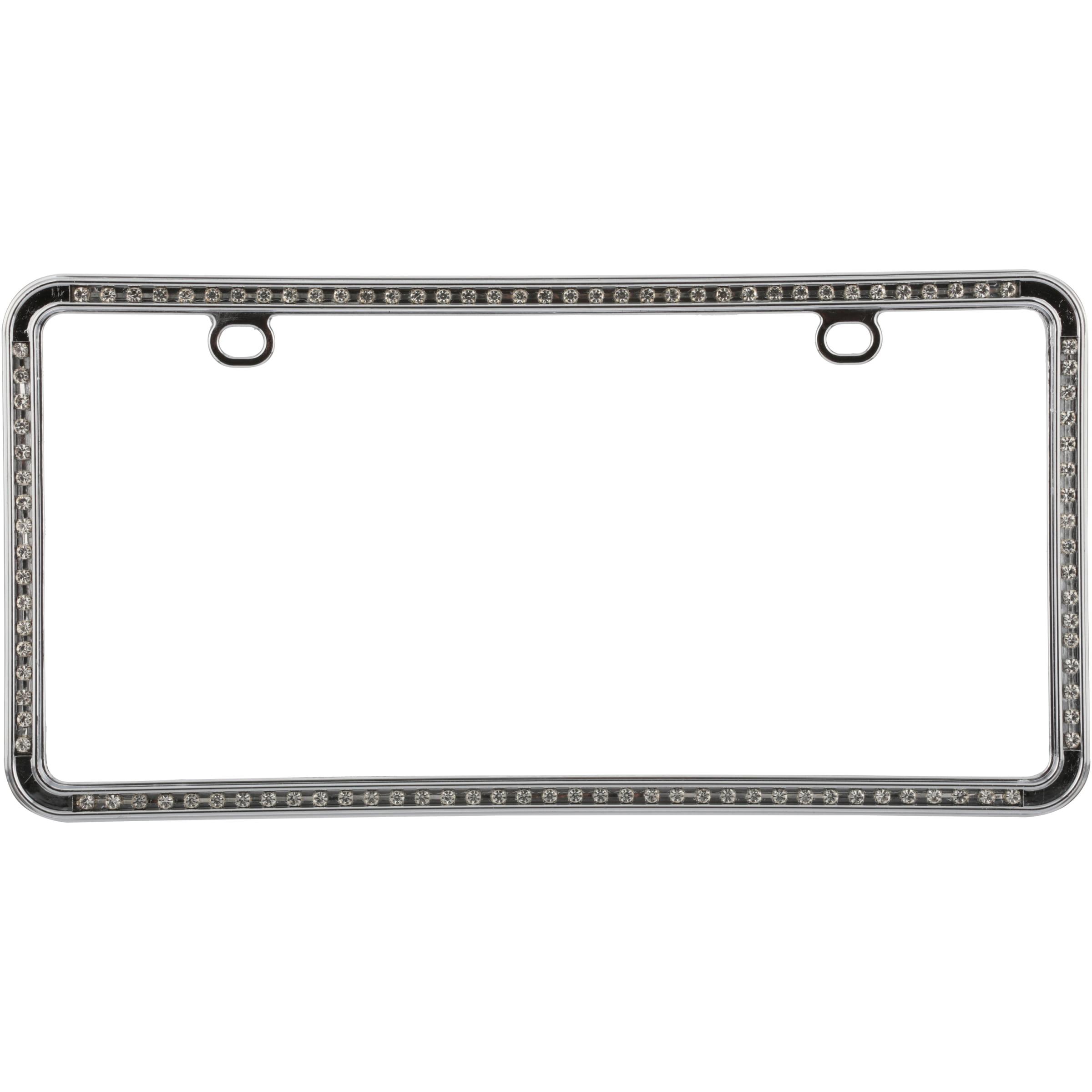 Auto Drive™ Chrome License Plate Frame