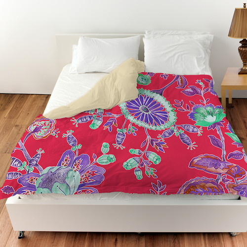 Manual Woodworkers & Weavers Anima Outline Duvet Cover