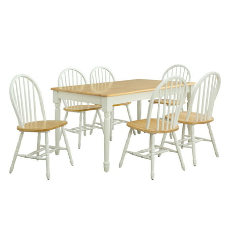 Better Homes Gardens Autumn Lane Windsor Solid Wood Dining Chairs Set Of 2 Best Dining Chairs