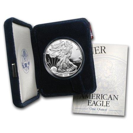 1986 Silver Eagle (1 oz Proof Silver American Eagle (Random Year w/Box & COA) )