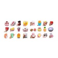 SET OF 10 SQUISHY TOYS SUPER SLOW RISING SQUEEZE SCENTED SQUISHIES ( 10 STYLES WILL BE SENT RANDOMLY )