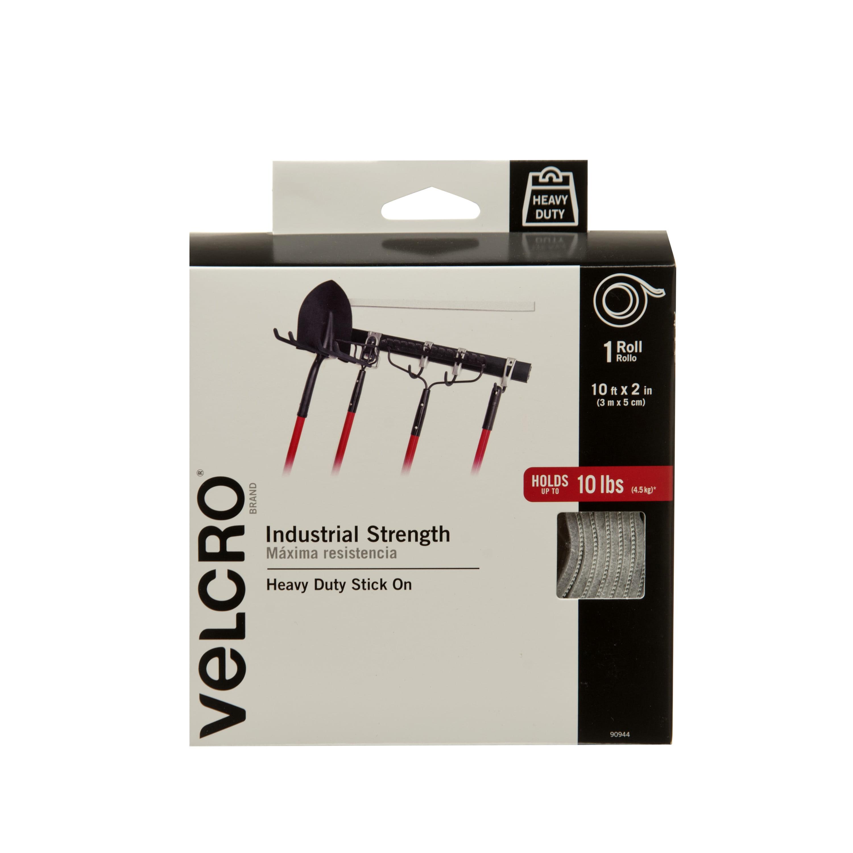 VELCRO® Brand Industrial Strength 10ft x 2in Roll, White