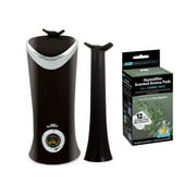 Air Innovations MH-701B Clean Mist Smart Ultrasonic Humidifier w/ Aroma Pads