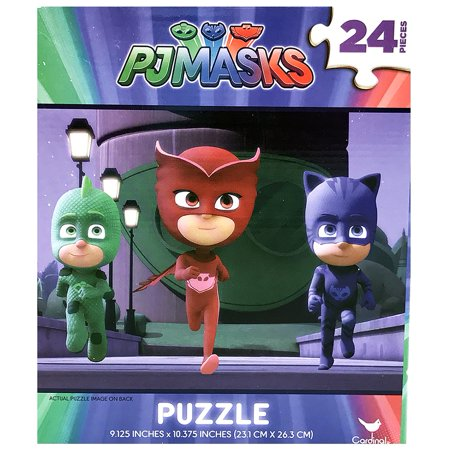 PJ Masks 24 - Piece Puzzle - Owlette Gekko and Catboy - Running