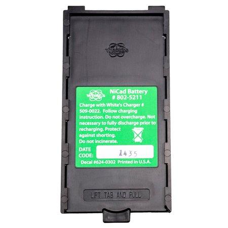 Nicad Cell Voltage (Whites DFX, XLT, MXT, M6, QXT, CL SL NiCad Rechargeable Battery)