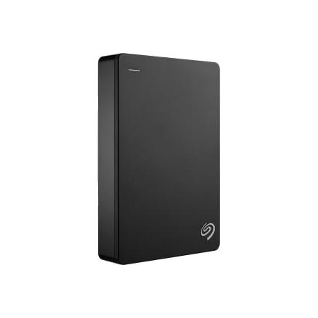 Seagate Backup Plus Portable 4TB External Hard Drive HDD – Black USB 3.0 for PC Laptop and Mac, 2 Months Adobe CC Photography