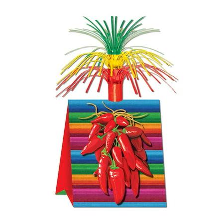 Chili Pepper Centerpiece 15 inch Fiesta - Party Decoration - 1 per pack