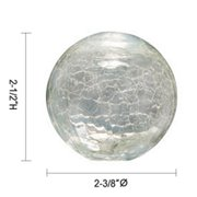 Jesco Lighting QASA123CL Glass Replacement for Low Voltage Quick Adapt Spot, Clear
