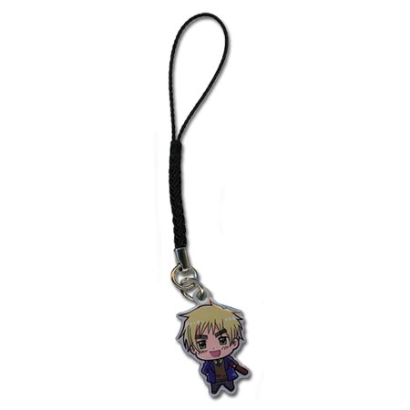 Cell Phone Charm - Hetalia - New SD Chibi England Gifts Anime ge17099