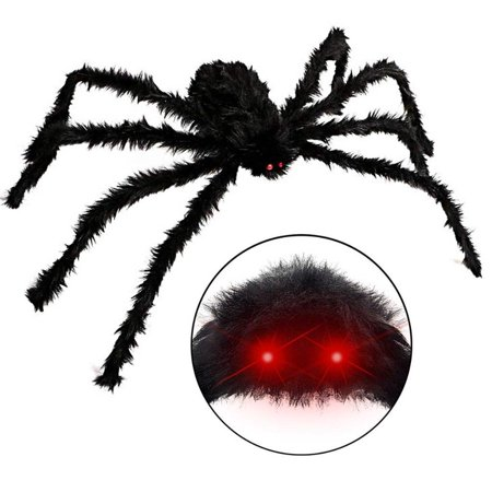 Elegantoss Halloween Giant Spider Decorations, 50