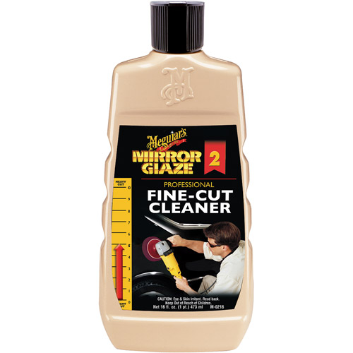 Meguiar's Mirror Cleaner 2 Fine-Cut Cleaner Glaze, 16 fl oz