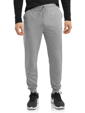 Athletic Works Men's Knit Jogger, Up to 5XL