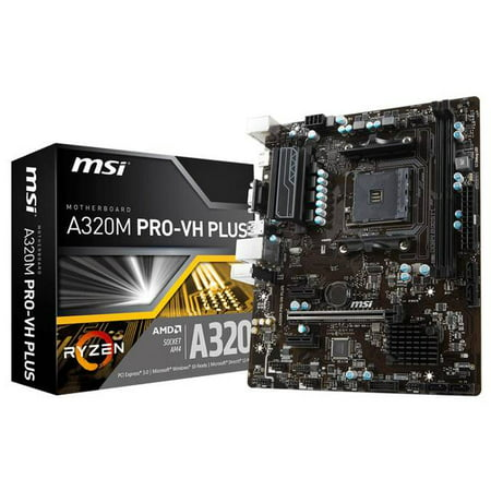 MSI Motherboard A320M PRO-VH PLUS