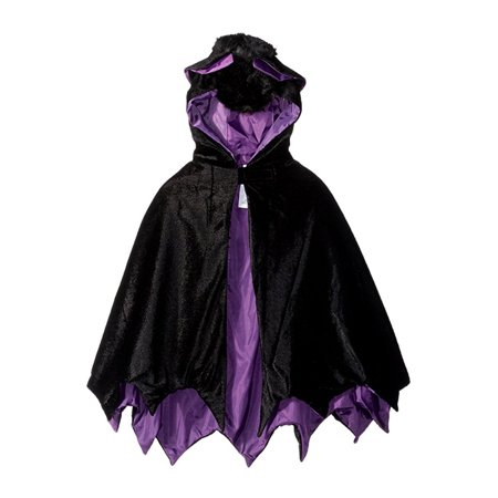 Bat Wings Child Hooded Animal Costume Cape Cloak Mantle - Capes And Cloaks