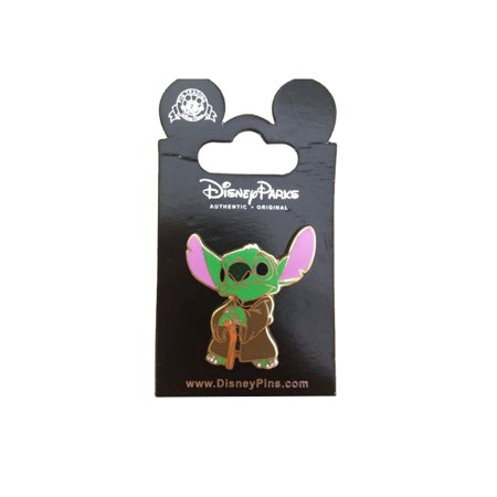 Star Stick Pin - Star Wars Stitch As Yoda Pin