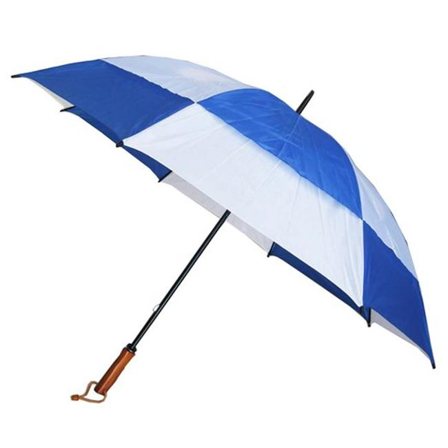 Conch Umbrellas 7862Blue 60 in. Jumbo Golf Double Canopy Windproof Umbrella