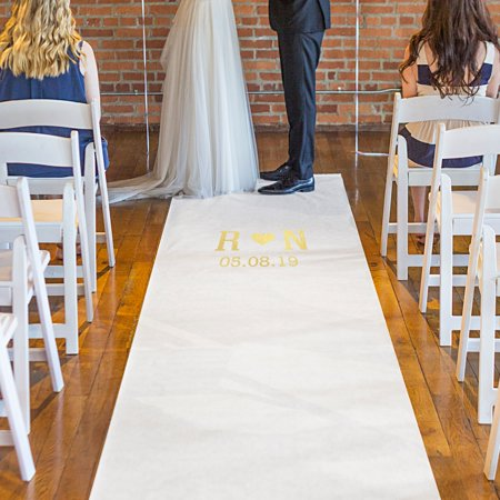 Personalized Wedding Aisle Runner - Personalized Wedding Aisle Runner