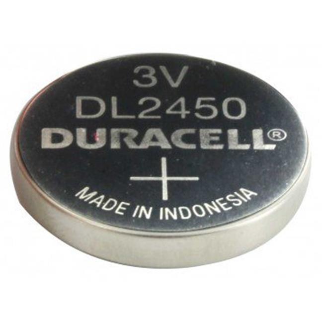 Duracell Duralock DL CR2450 Lithium Coin Cell Battery - 620mAh - 1 Piece Bulk