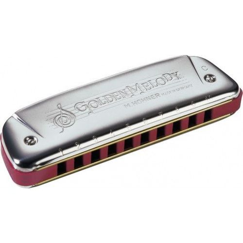 Hohner Golden Melody Hohner Diatonic Harmonicas Key B by