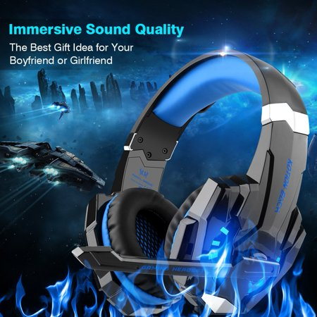 Each G9000 Stereo Gaming Headsets Headphone for PS4 Xbox One Controller  with Mic