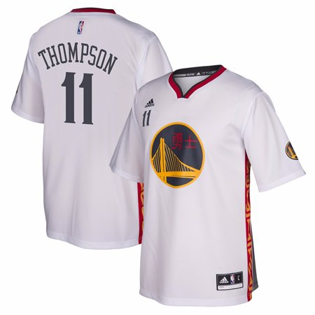 official photos 56dc6 180f3 Klay Thompson Golden State Warriors NBA Adidas Men's White ...