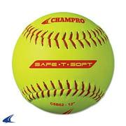 Safe-T-Soft Softballs- 12'', 12 per Set by Champro