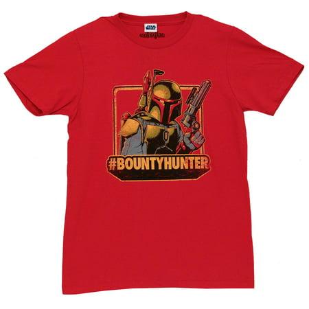 Star Wars Boba Fett Bounty Hunter Badass Mighty Fine Movie Adult T-Shirt - Adults Movies