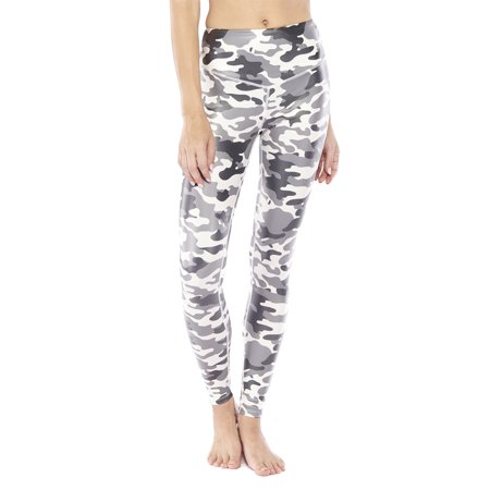 ee80cd95983dd Electric Yoga - Women's Active Revolution Camo Print Legging - Walmart.com