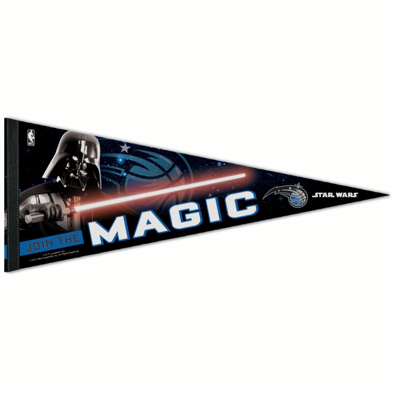 "Orlando Magic WinCraft Star Wars Darth Vader 12"" x 30"" Premium Pennant - No Size"