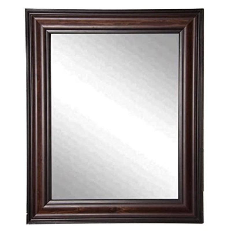 Rayne Mirrors Missouri Walnut Wall Mirror