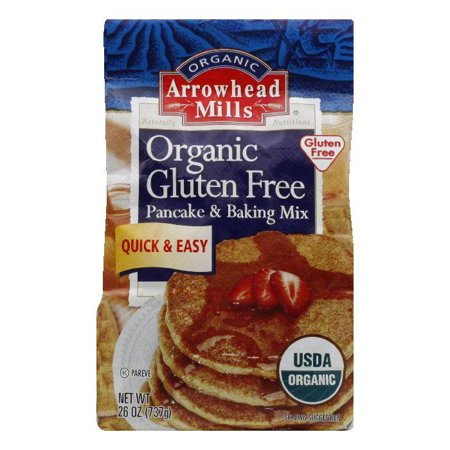 Arrowhead Mills Gluten Free Organic Pancake & Baking Mix ...