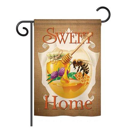 13 x 18.5 in. My Bee Sweet Home Garden Friends Bugs & Frogs Impressions Decorative Garden Flag - image 1 de 1