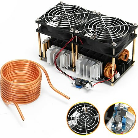Heating Coil (1800W ZVS induction Heating Board Module Flyback Driver Heater+Tesla coil+)