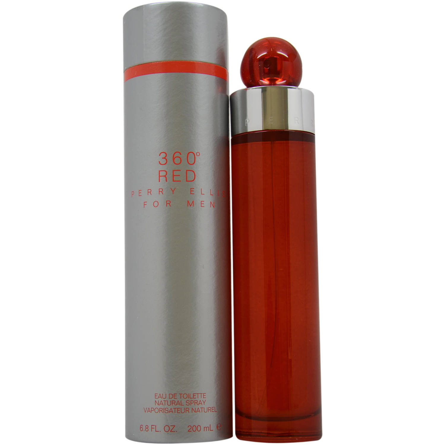 360 Red by Perry Ellis for Men EDT Spray, 6.8 oz