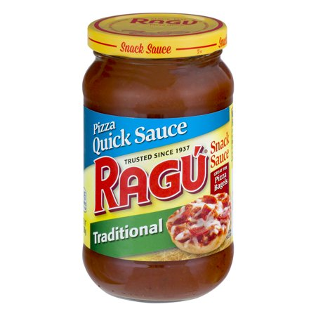 Traditional Pizza (Ragú Pizza Quick Traditional Snack Sauce 14)