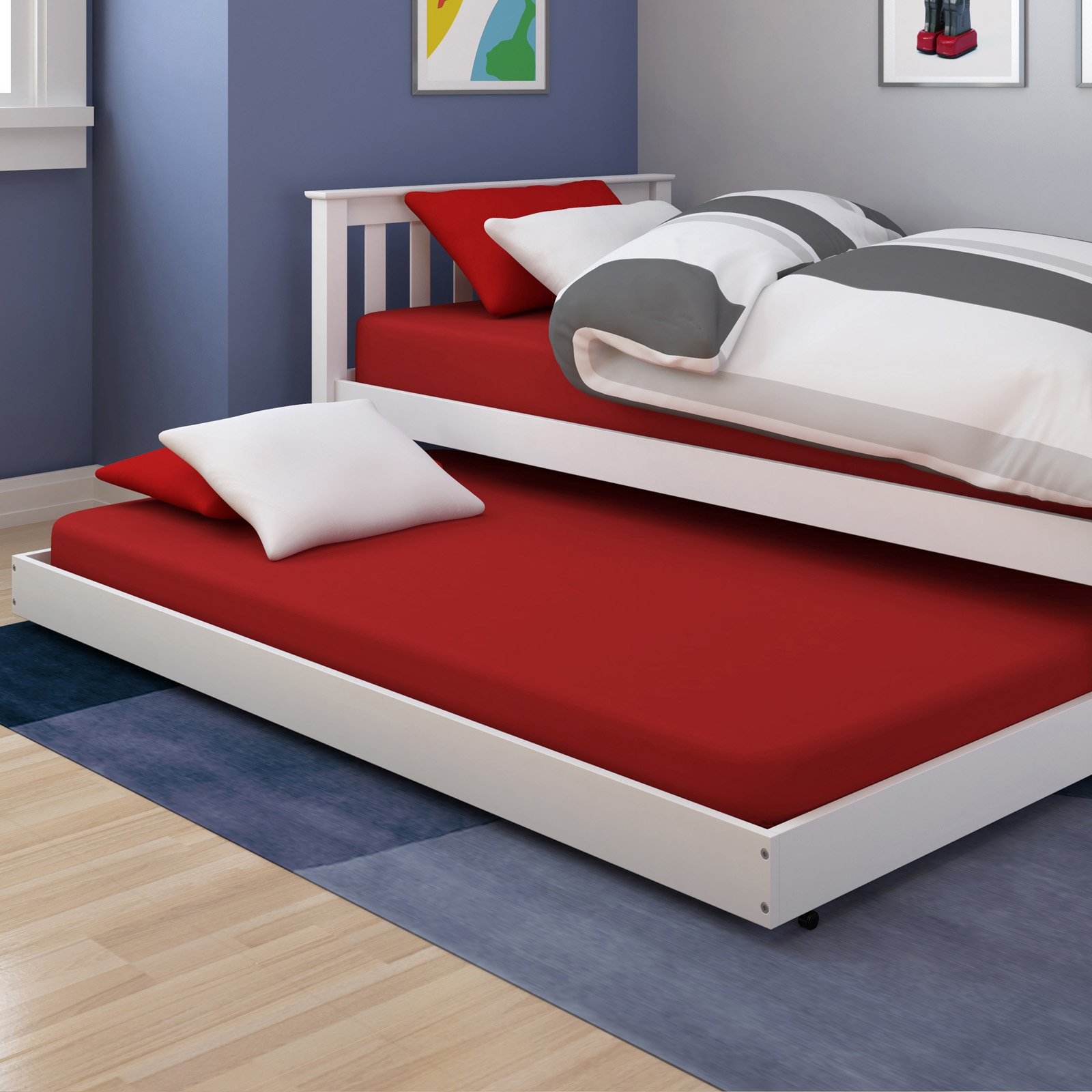 CorLiving Monterey Trundle Bed