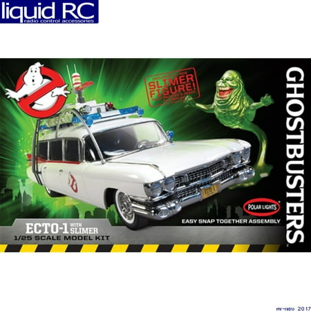 - Round 2, LLC. Polar Lights 1 25 Ghostbusters Ecto-1 w Slimer Snap, PLL958
