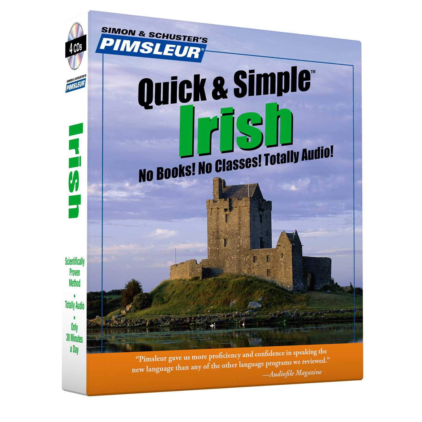 Pimsleur Irish Quick & Simple Course - Level 1 Lessons 1-8 CD : Learn to Speak and Understand Irish (Gaelic) with Pimsleur Language Programs