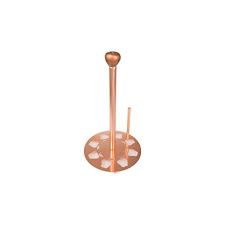 Creative Home Metal Paper Towel Holder with Copper Finish NA Copper Paper Towel Holder